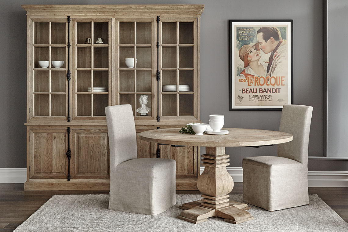 Oak Dining Table by Finch & Lane Interiors
