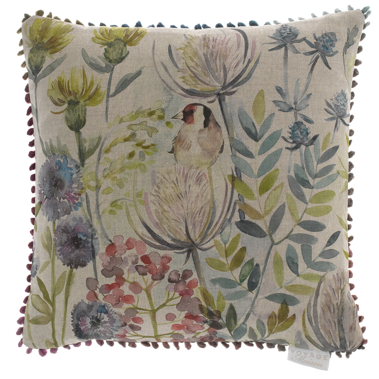 Goldfinch cushion made in scotland finch lane interiors for Au maison cushion