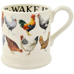 Hen & Toast 1/2 Pint Mug