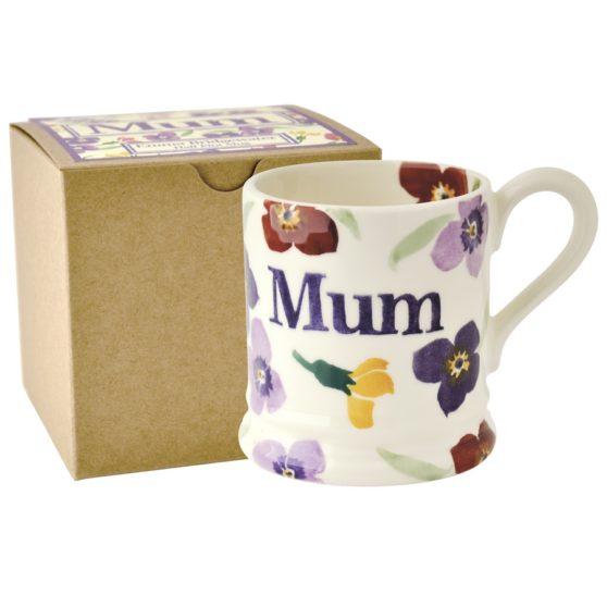 Emma Bridgewater Wallflower Mum Half Pint Mug (Gift Box)