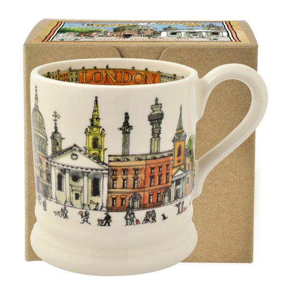 Emma Bridgewater Cities of Dreams London Half Pint Mug Boxed