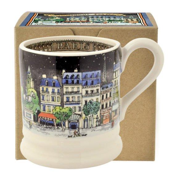 Emma Bridgewater Cities of Dreams Paris Half Pint Mug Boxed