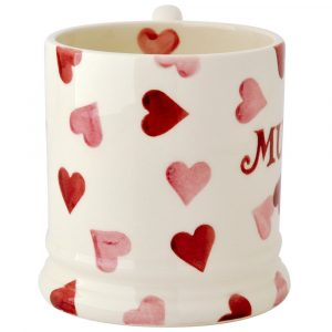 Pink Hearts Mummy Mug
