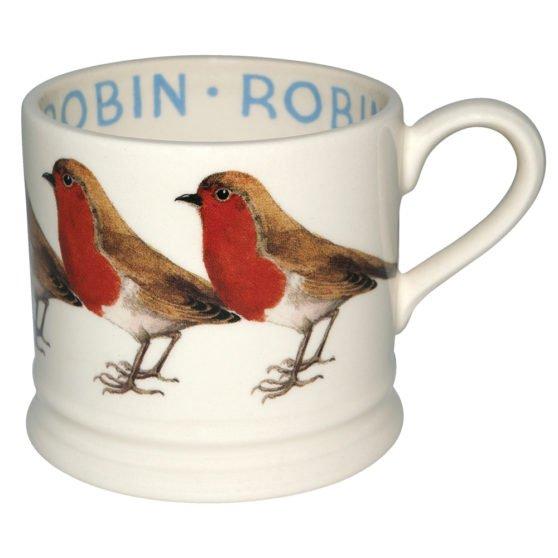 Emma Bridgewater Robin Small Mug