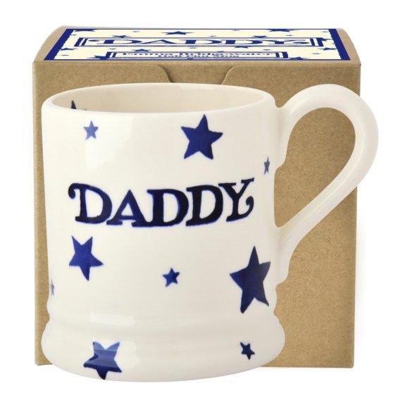 Emma Bridgewater Starry Skies Daddy 1/2 Pint Mug Boxed