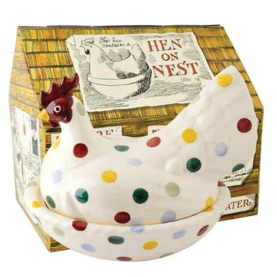 Emma Bridgewater Polka Dot Hen on Nest (Gift Box)
