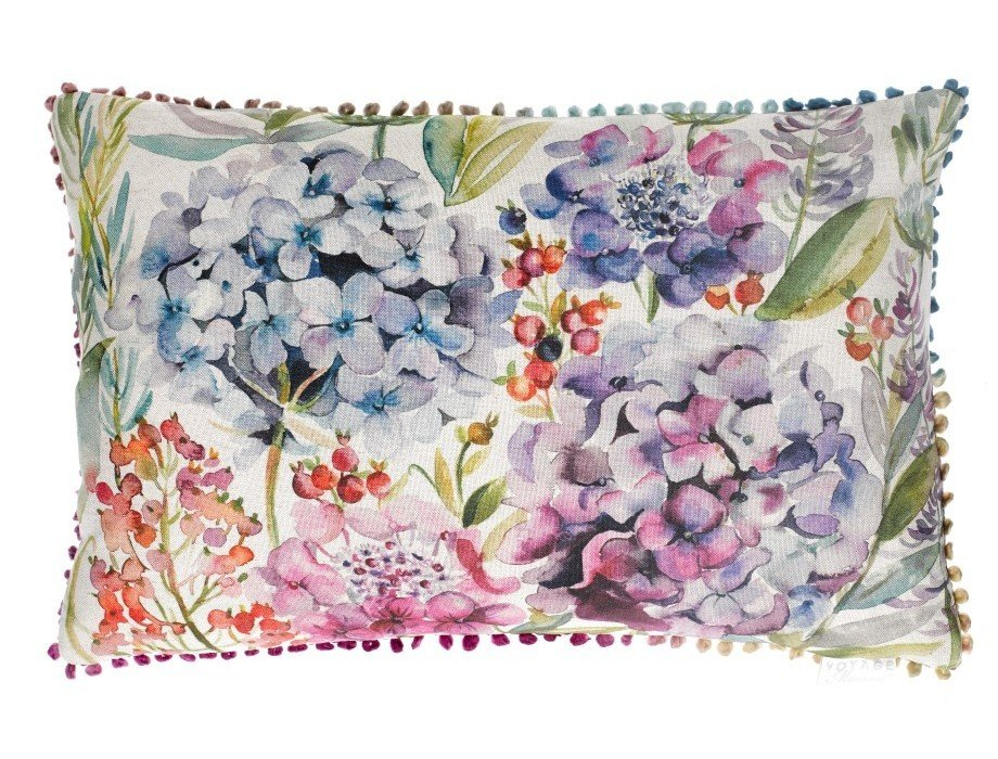 Hydrangea cushion made in scotland ebay for Au maison cushion