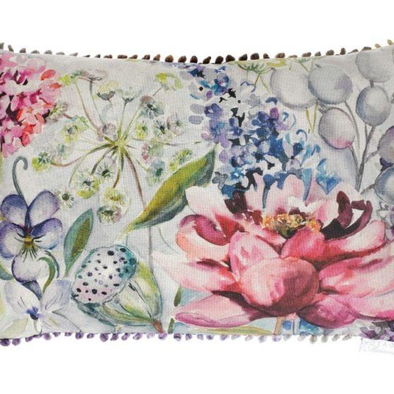 Spring Garden Cushion - Made in Scotland