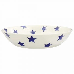 Emma Bridgewater Blue Star Medium Pasta Bowl