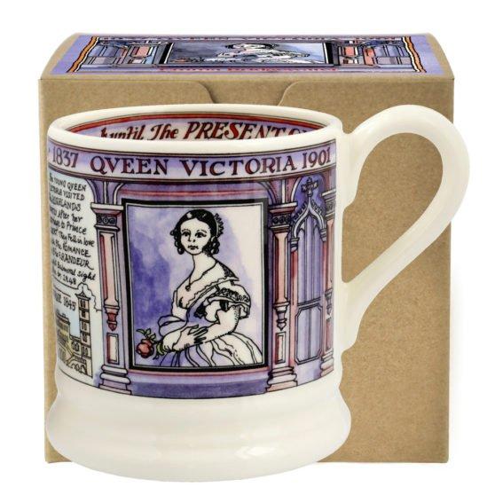 Emma Bridgewater Queen Victoria 1/2 Pint Mug