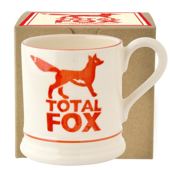 Emma Bridgewater Total Fox 1/2 Pint Mug