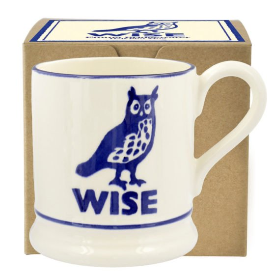 Emma Bridgewater Wise Owl 1/2 Pint Mug