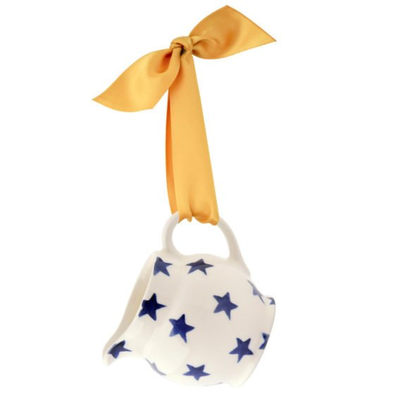 Emma Bridgewater Starry Skies Tiny Jug Tree Decoration