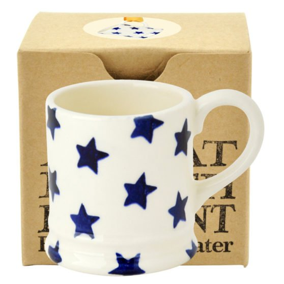 Emma Bridgewater Starry Skies Tiny Mug Tree Decoration