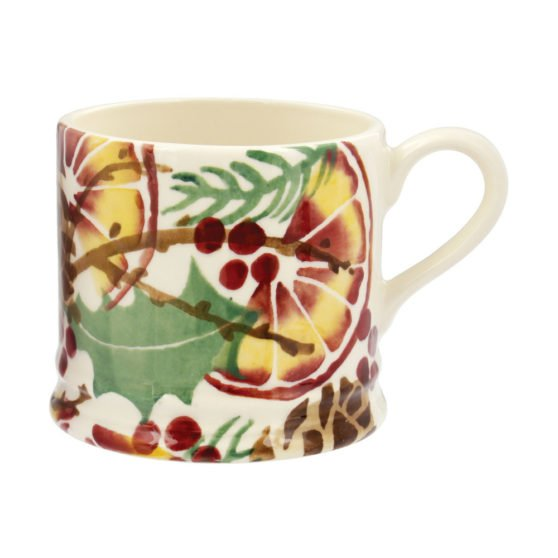 Emma Bridgewater Holly Wreath Small Mug