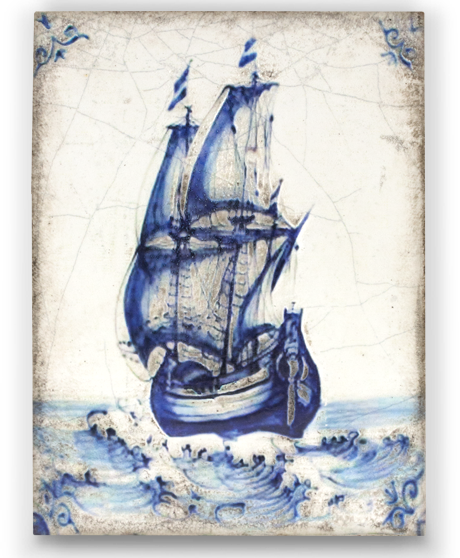 Sid Dickens Ships Ahoy Block