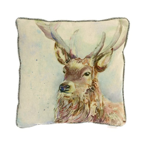 Wallace Stag Cushion