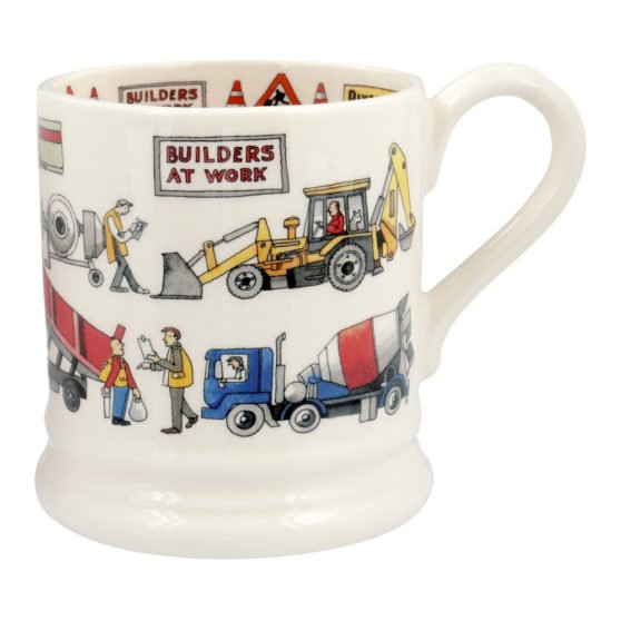 Emma Bridgewater Builders at Work 1/2 Pint Mug