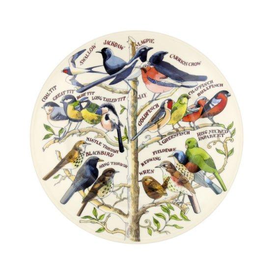 "Emma Bridgewater Garden Birds 8 1/2"" Plate"