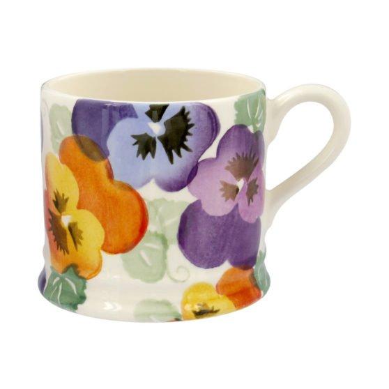 Emma Bridgewater Purple Pansy Small Mug