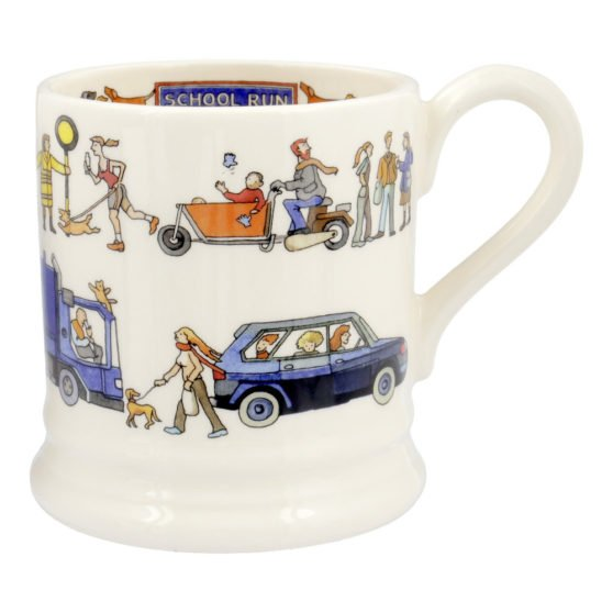 Emma Bridgewater School Run 1/2 Pint Mug