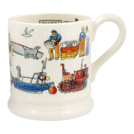Emma Bridgewater Seaside 1/2 Pint Mug