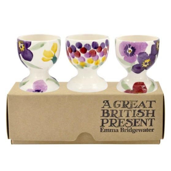 Emma Bridgewater Wallflower Set of 3 Egg Cups