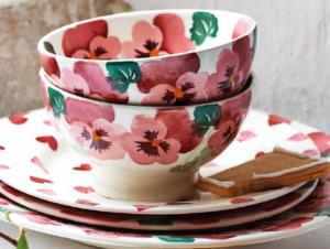 Emma Bridgewater Australia Autumn 2018 Pink Pansy Collection
