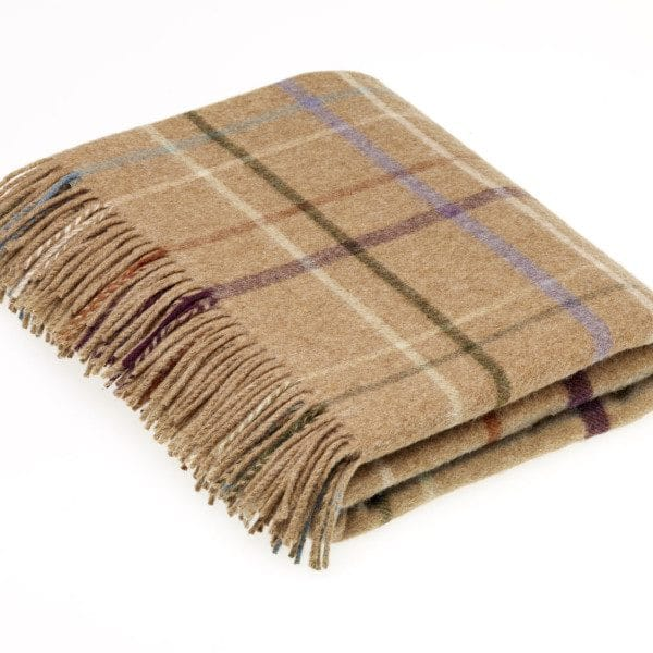 Country House Throw - Litton Camel - Bronte by Moon