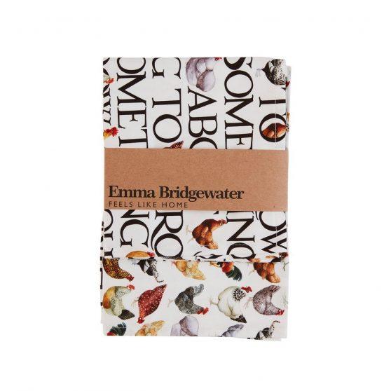 Emma Bridgewater Hens & Toast Tea Towel – Pack of Two