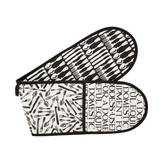 Emma Bridgewater Knives & Forks Double Oven Glove||||||