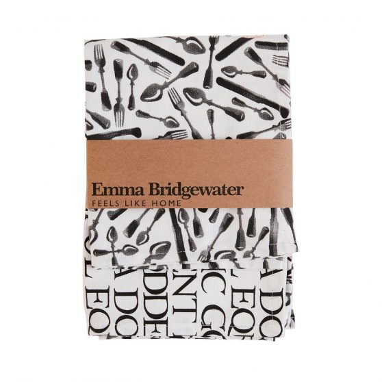 Emma Bridgewater Knives & Forks Tea Towel – Pack of Two