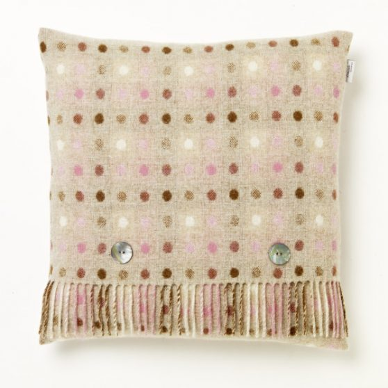 Multi Spot Cushion - Beige/Pastel - Bronte by Moon 1