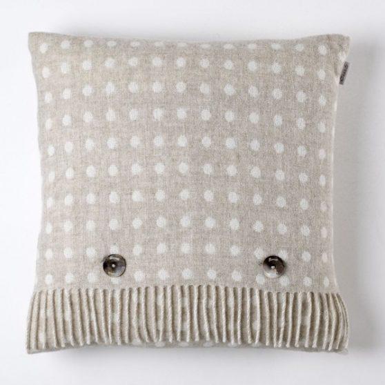Spot Cushion - Beige - Bronte by Moon