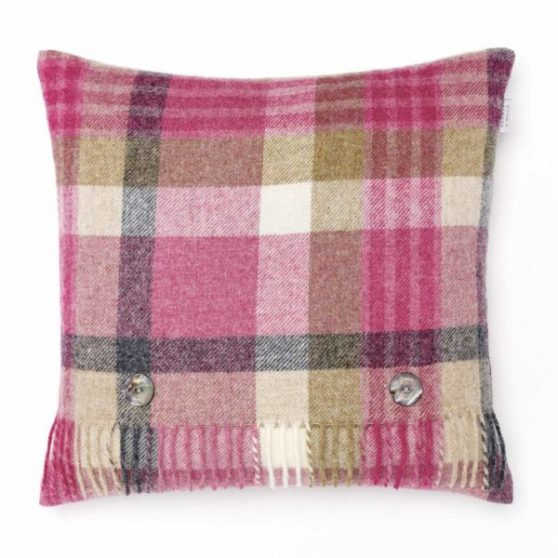 Pink & Natural Melbourne Cushion - Bronte by Moon