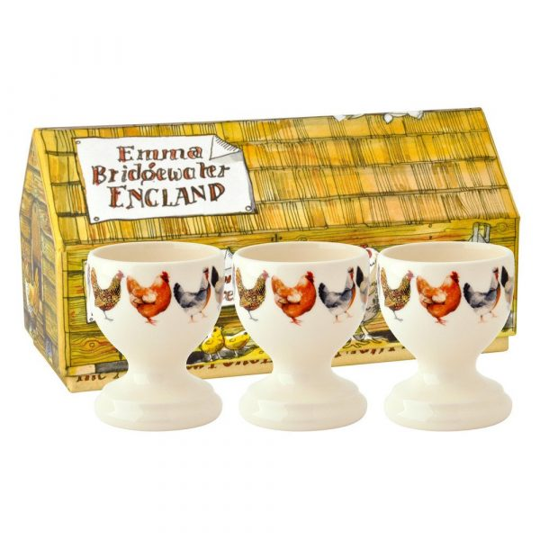 Emma Bridgewater Hen & Toast Egg Cups Set of 3