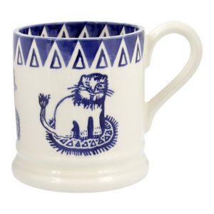 Emma Bridgewater Mary Fedden Lions 1/2 Pint Mug