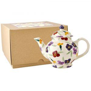 Emma Bridgewater Wallflower 4 Mug Teapot