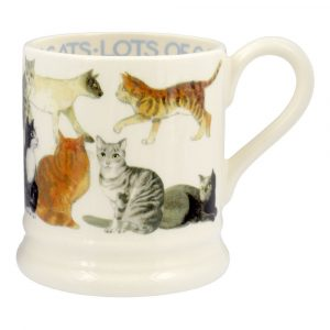 Emma Bridgewater All Over Cat 1/2 Pint Mug
