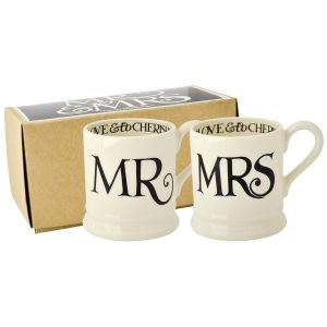 Emma Bridgewater Black Toast Mr & Mrs