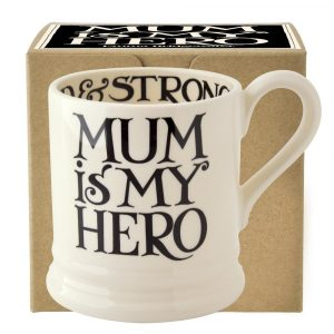 Emma Bridgewater Black Toast Mum is My Hero 1/2 Pint Mug