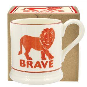 Emma Bridgewater Brave Lion 1/2 Pint Mug