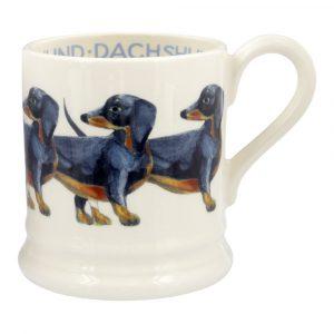 Emma Bridgewater Dachshund1/2 Pint Mug