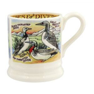 Emma Bridgewater Divers and Grebes 1/2 Pint Mug