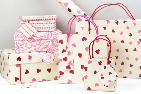 Gift Pink Hearts