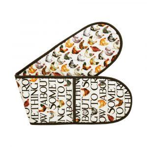 Emma Bridgewater Hens & Toast Double Oven Glove