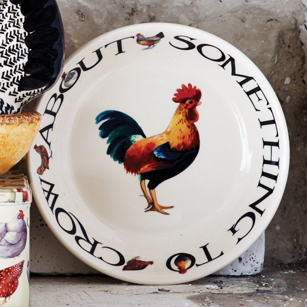Emma Bridgewater Hen & Toast Medium Pasta Plate
