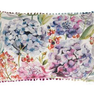 Hydrangea Cushion - Made in Scotland