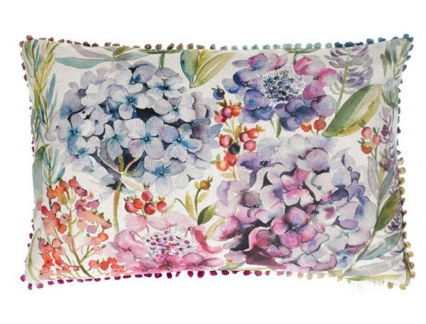 Hydrangea Cushion - Made in Scotland