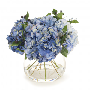 Artificial Flowers Hydrangea Mix in Vase